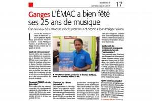 Article journal MIDI LIBRE 22062019