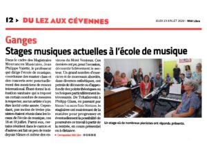 EMAC Journal Midi libre 23072020