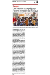 EMAC journal Midi Libre 01072020