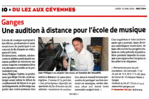 EMAC journal Midi Libre 15062020