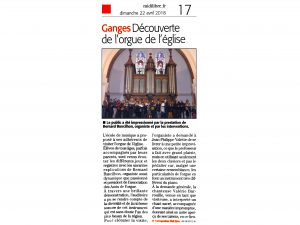 EMAC journal Midi Libre 22042018