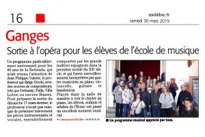 EMAC journal Midi Libre 30032019
